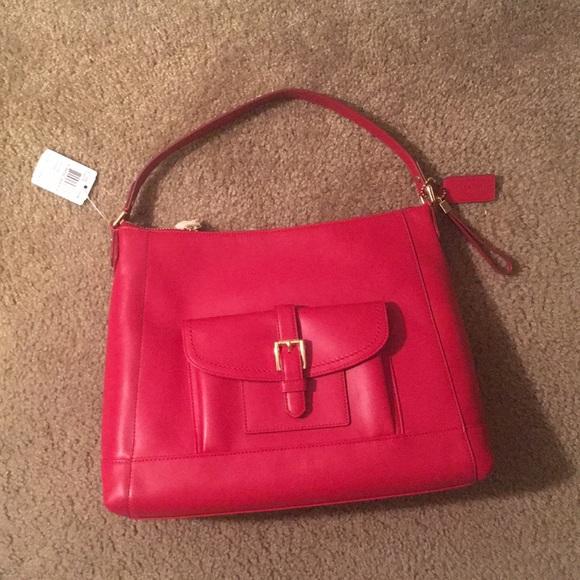 Coach Charlie leather hobo bag 0678e1ba9fb87